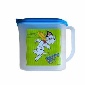 101 Dalmatians blue Tupperware pitcher